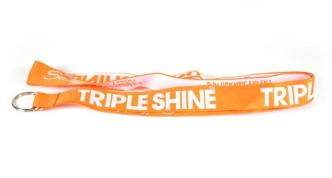 sample lanyard